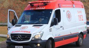 Após colisão, motociclista fica ferido no Aracy