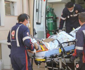 Operário sofre traumatismo craniano após acidente de trabalho no Damha II