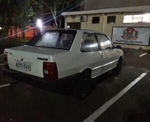 Carro furtado é localizado no Santa Felícia