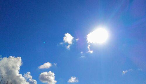 Final de semana será de tempo firme, com temperaturas em elevação no decorrer do dia