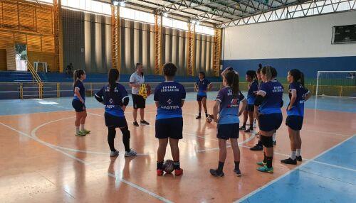Futsal retorna aos treinos presenciais e se prepara para a estreia na temporada