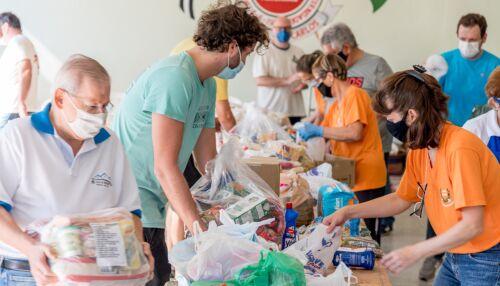 Juntos Somos Mais Fortes arrecada 28,5 toneladas de alimentos