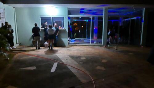 Força Tarefa interdita festa no Parque Belvedere