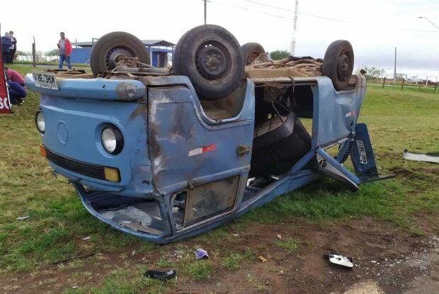 Morre uma das vítimas de acidente entre Kombi e caminhão na Washington Luis