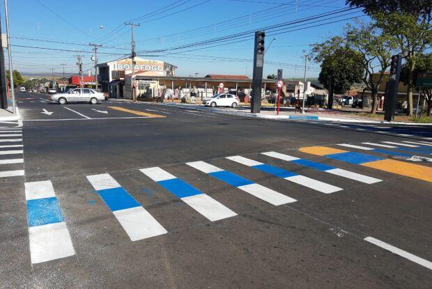 Prefeitura muda o trânsito no cruzamento das avenidas Henrique Gregori e José Pereira Lopes