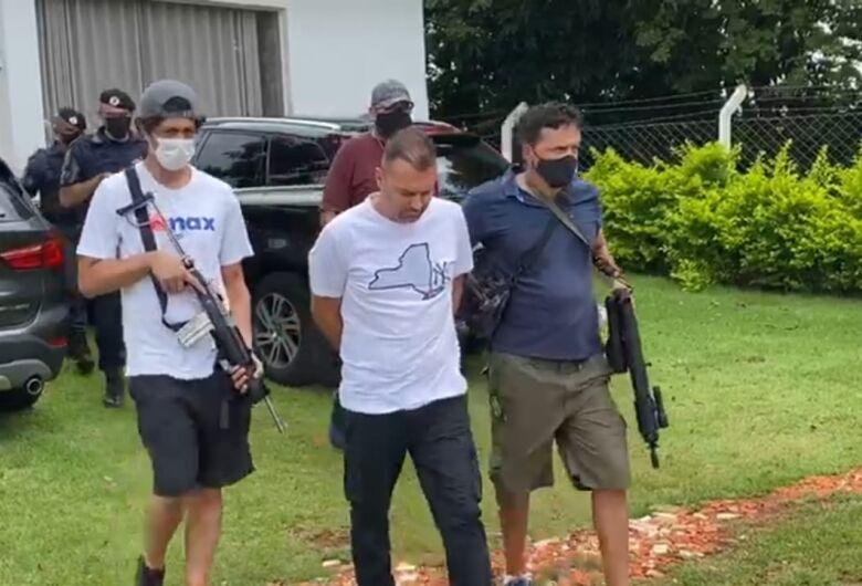 Ladrão de banco mais procurado do Brasil é preso em cidade da região