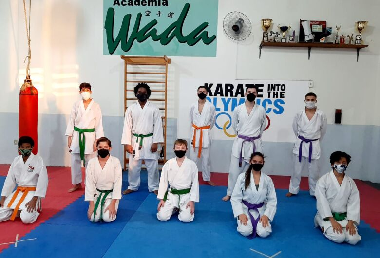 Karatê são-carlense retorna aos treinos de olho em 2021