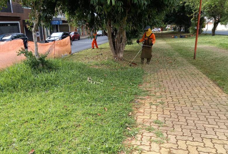 Prefeitura segue com cronograma de limpeza e tapa-buracos