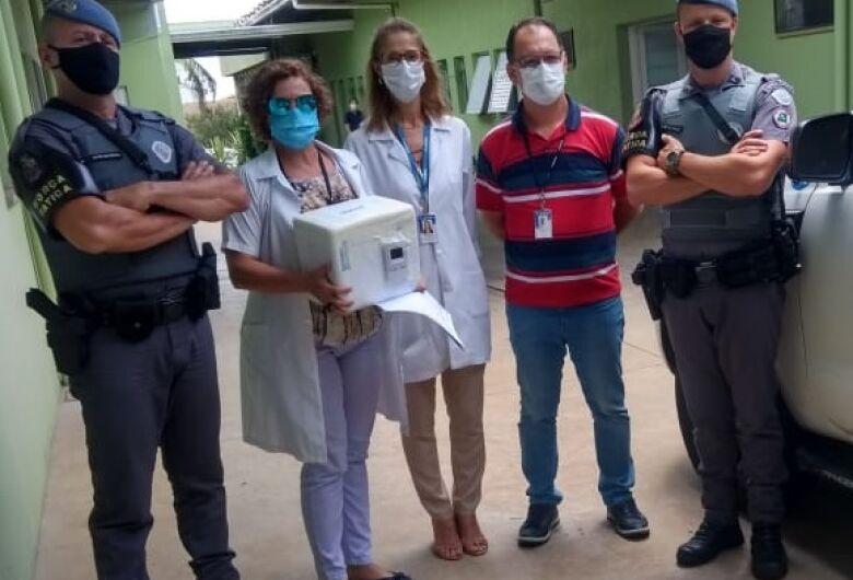 Ibaté recebe 190 doses da vacina Oxford/Astrazeneca