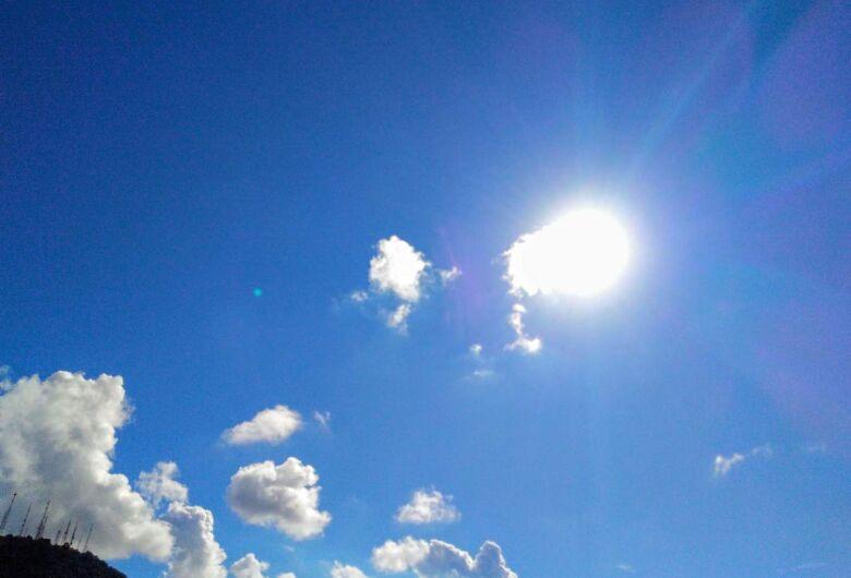 Tempo volta a ficar estável e temperaturas estarão em elevação ao longo da semana