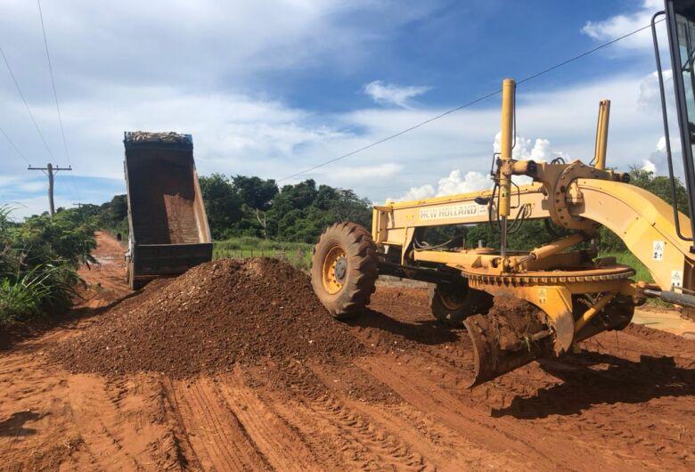 Prefeitura retoma manutenção das estradas rurais