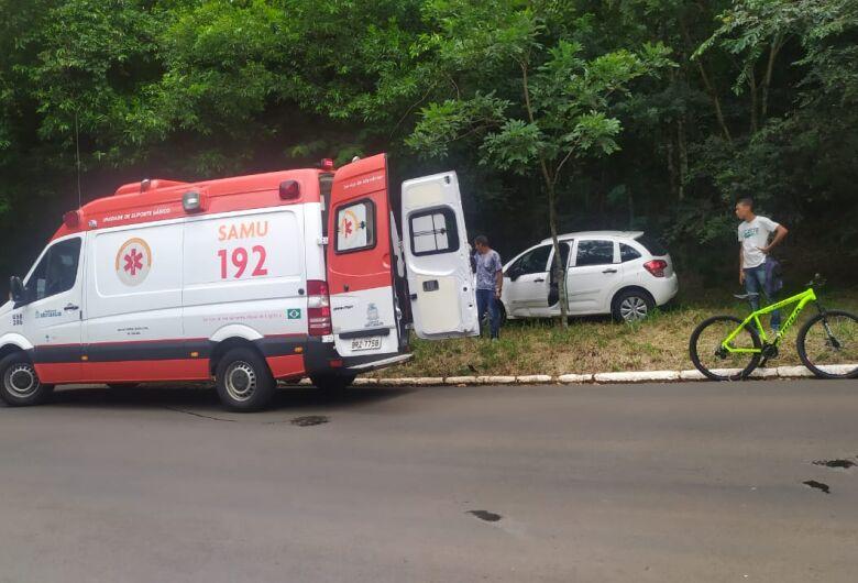 Ciclista na contramão é atropelado no Santa Mônica