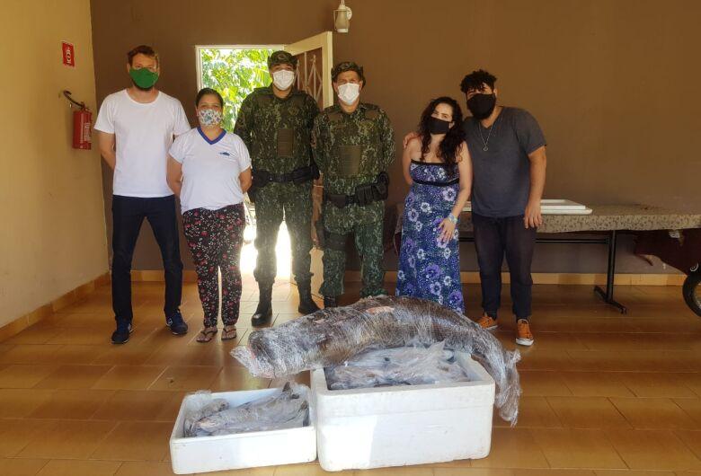 Mais de 100 Kgs de peixe são apreendidos em comércio ilegal pela Polícia Ambiental