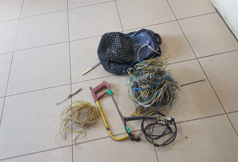 Ladrão é detido após furto em residência no Jardim Ricetti