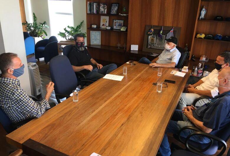 Airton Garcia e Edson Ferraz recebem diretores do CIESP São Carlos