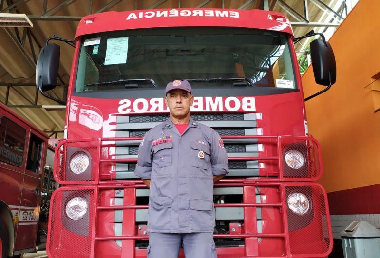Após 30 anos, sargento Antunes se aposenta no Corpo de Bombeiros