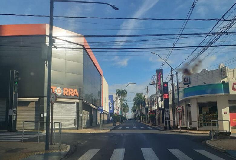 Lockdown total é prorrogado até sexta-feira em Araraquara