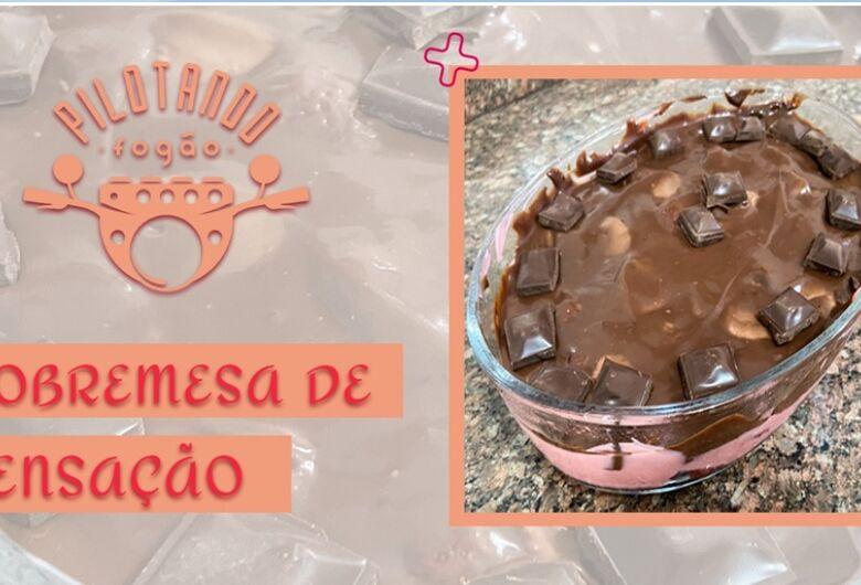Vinicius Holmo ensina a fazer uma deliciosa sobremesa Sensação