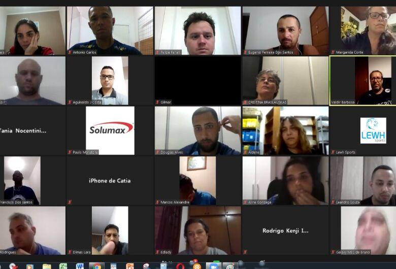 Reunião remota com dirigentes promove mudanças e define metas no Campeonato Paulista