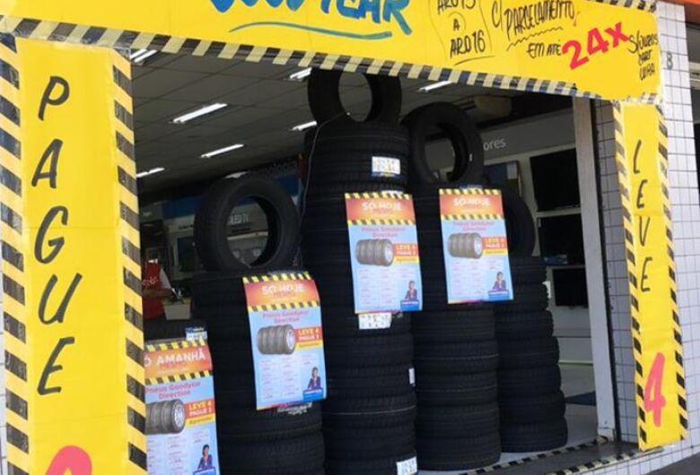 Magazine Luiza faz promoção de pneus: leve 4 pague 3