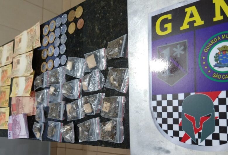 Adolescentes são flagrados com drogas em Cemei