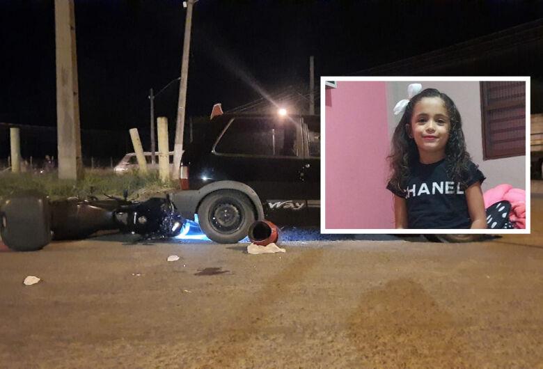 Criança de 5 anos morre em acidente na região