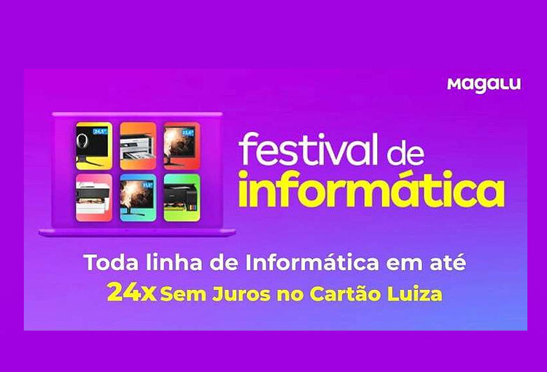 Começou o festival de informática Magalu São Carlos
