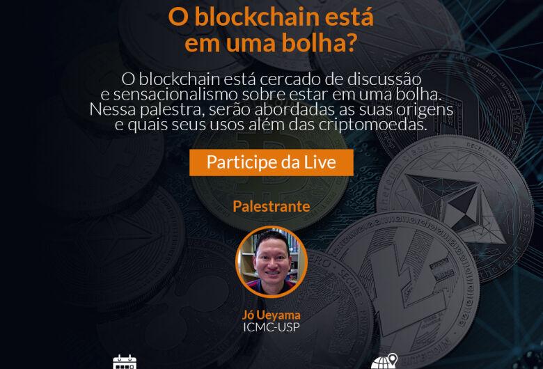 Especialista da USP São Carlos discute blockchain em evento gratuito