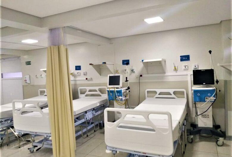 Santa Casa fecha mais dois leitos de UTI Covid devido a escassez de kits de intubação