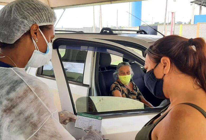 Idosos de 77 a 79 anos de Ibaté serão vacinados a partir desta quinta-feira (04)