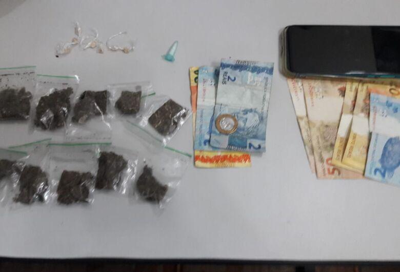 Adolescente é flagrado com drogas no CDHU