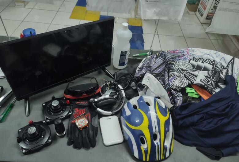 Suspeito é detido com produtos furtados em Porto Ferreira