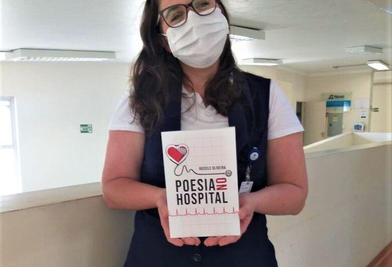 Enfermeira da Santa Casa lança livro de poesia em homenagem aos pacientes
