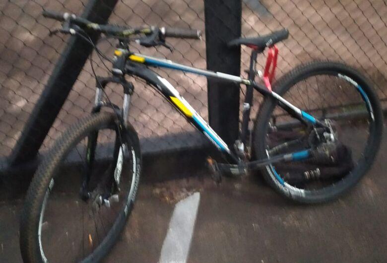 Homem é preso pela ROCAM após furtar bicicleta