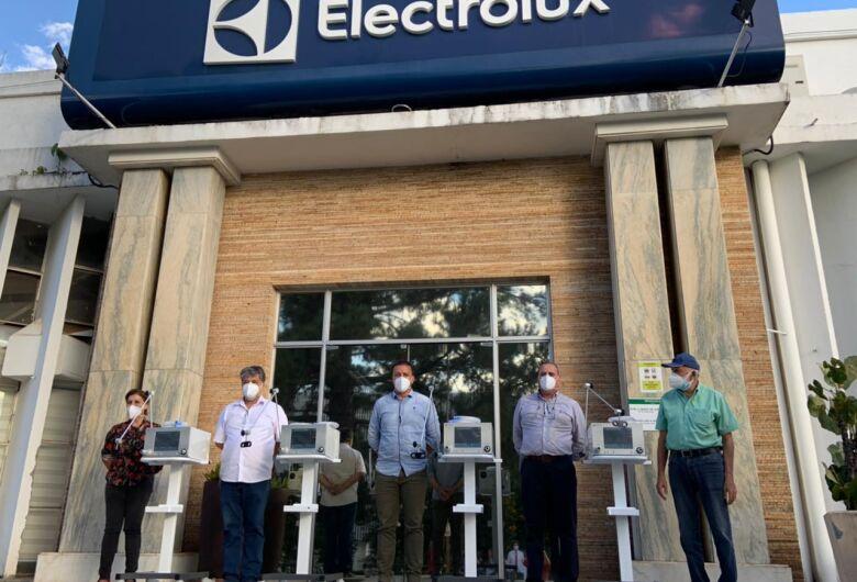 Covid-19: Prefeitura recebe doação de 4 respiradores da Electrolux