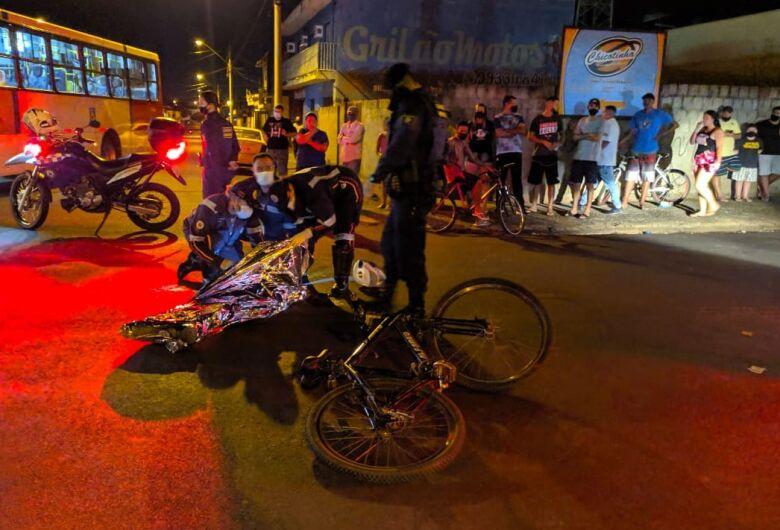 Adolescente morre atropelado por ônibus no Santa Felícia