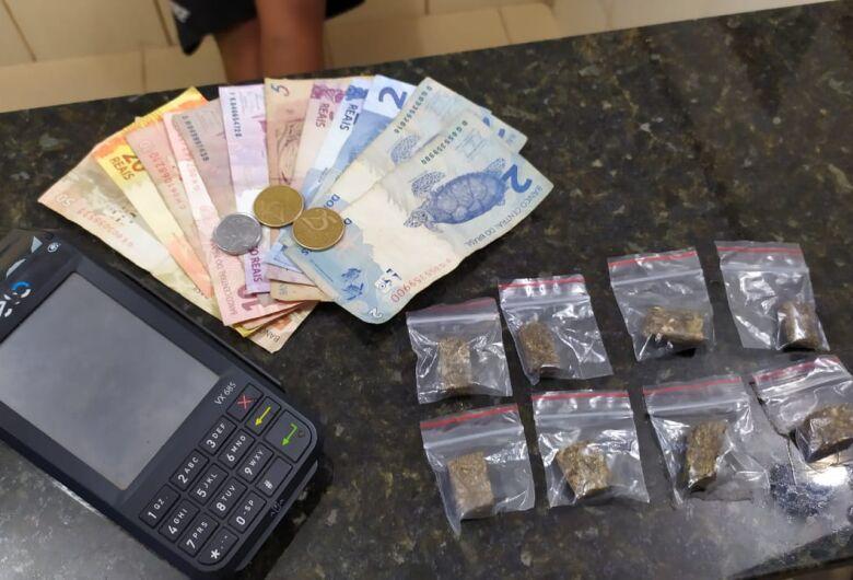 Traficante usava máquina de cartão para passar drogas no débito ou crédito