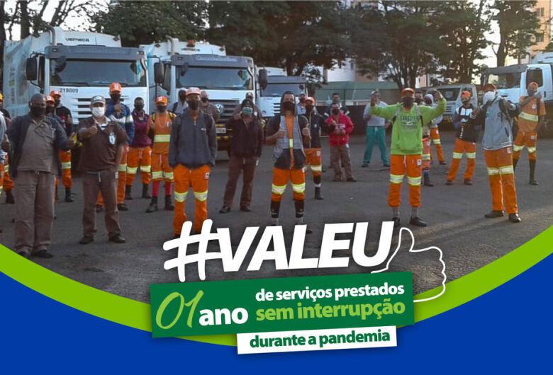 São Carlos Ambiental parabeniza seus colaboradores pelo Dia do Trabalho
