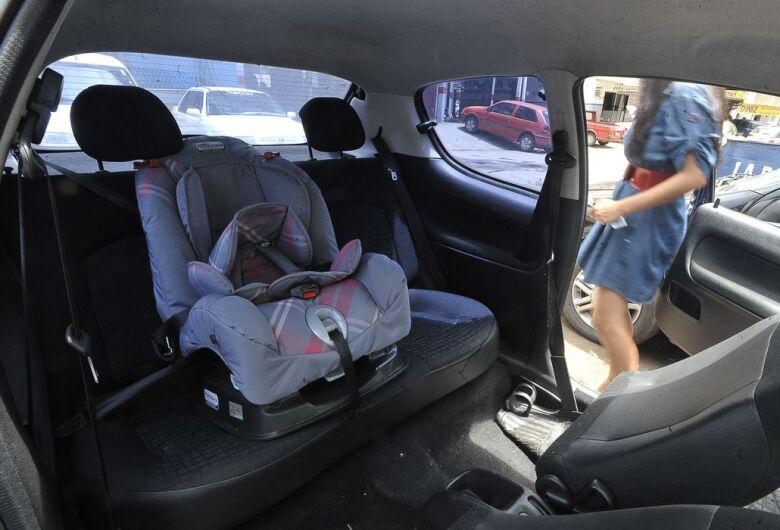Transporte de crianças em veículos tem novas regras