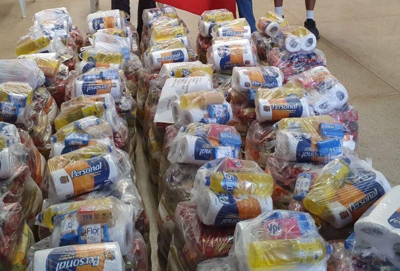 Campanha em São Carlos arrecada mais de 1 tonelada de alimentos