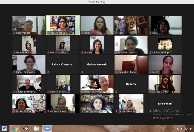 Frente Parlamentar em Defesa dos Direitos das Mulheres inicia trabalhos com reunião online