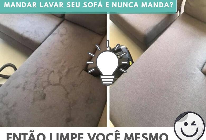 Empresa aluga equipamentos profissionais para a limpeza de casa em São Carlos