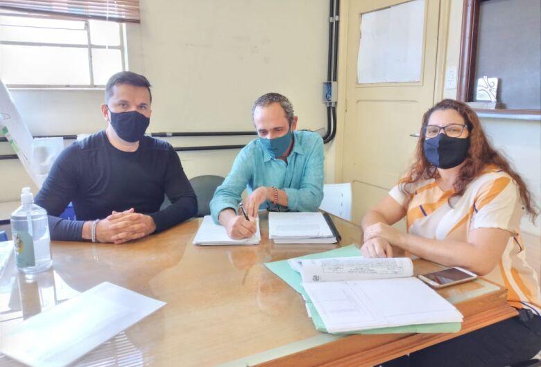 Rodson protocola documentação para aprovação do Projeto  Habitacional Jardim Vitória