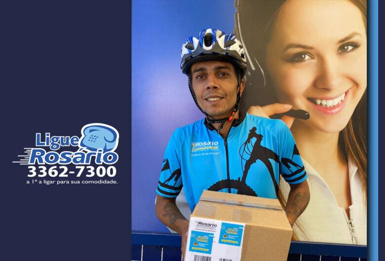 Farmácia Rosário implanta serviço de entrega ecológico