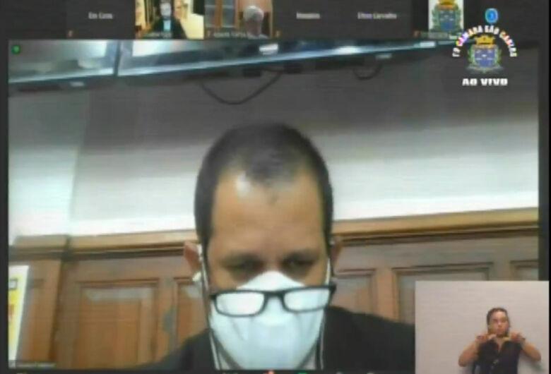 Vereadores derrubam requerimento que pedia tratamento precoce contra a Covid em São Carlos