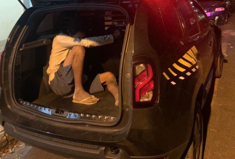Procurado por vários crimes é preso pela GM de Ibaté