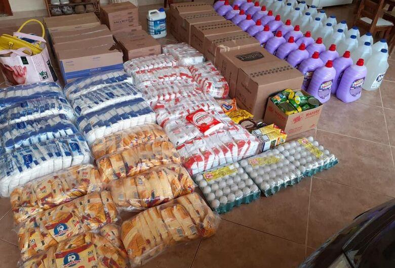 Projeto Nós já arrecadou mais de 10 toneladas de alimentos