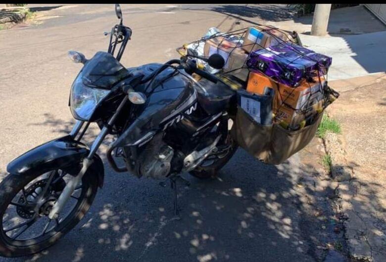 Vítima de assalto pede ajuda para localizar moto
