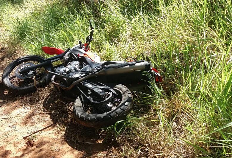 Moto roubada em Araraquara é localizada em trilha na 'serrinha' do Aracy