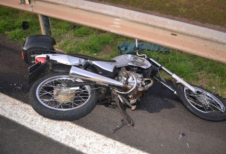 Motociclista morre em acidente na Washington Luis